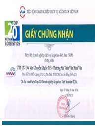 Top 20 vietnam logistics (2104)